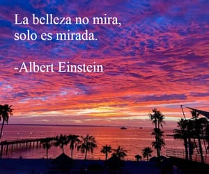 Albert Einstein, frases, and letras image