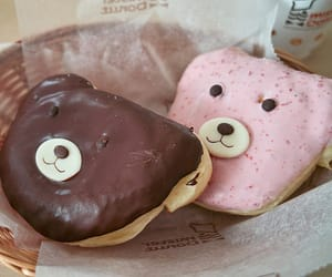 bear, donuts, and chocolate image