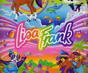 lisa frank, 90s, and pink image