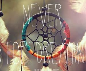 believe, Dream, and dreamcatcher image