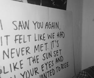 blackandwhite, the xx, and Lyrics image