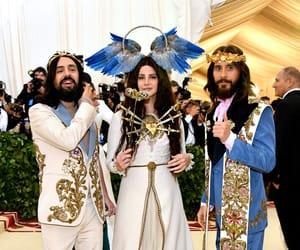 lana del rey, jared leto, and met gala image