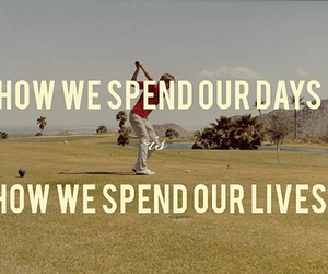 golf and quote image