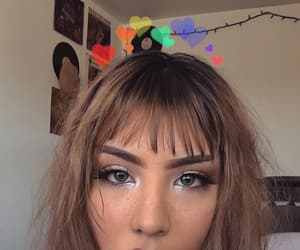 aesthetic, makeup, and retro image
