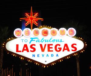 Las Vegas, light, and Nevada image