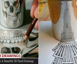 3D art, 3d drawing, and 3d drawings image