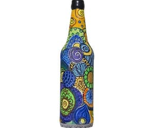 craft, home decor, and bottle art image