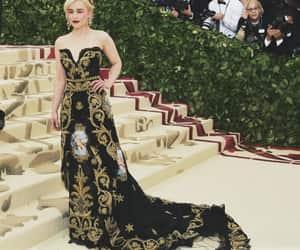 fashion, met gala, and emilia clarke image