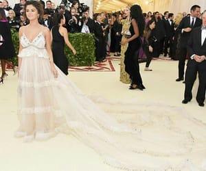 selena gomez, dress, and Queen image