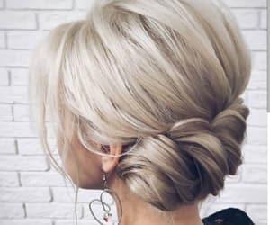 beautiful, blonde, and design image