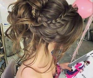 braid, hair, and design image