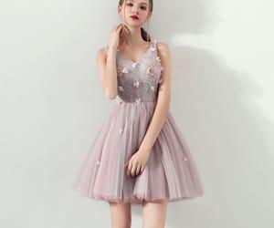cocktail dress, fashion, and girl image