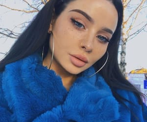 art, pretty girls, and blue image