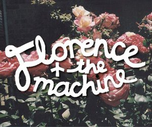 florence and the machine, flowers, and indie image