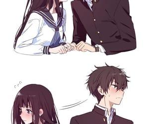 hyouka, anime, and cute image