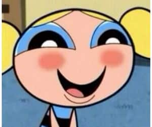 bubbles, funny, and powerpuff girls image