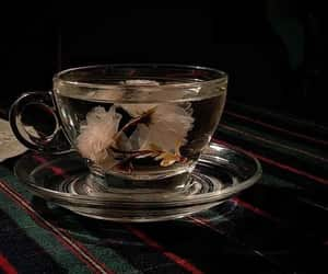 aesthetic, beautiful, and cup of tea image