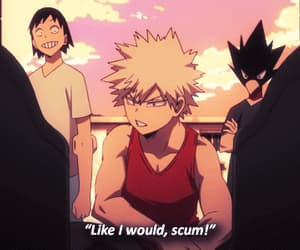 gif, boku no hero academia, and katsuki bakugou image