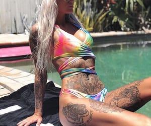tattoo, ink, and blackmilkclothing image