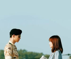 descendants of the sun, song joong ki, and kdrama image