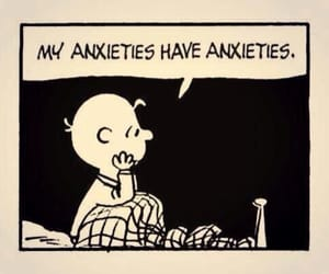 anxiety, funny, and quotes image