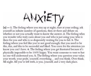 anxiety, depression, and depressed image