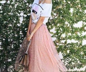 blush tulle skirt image