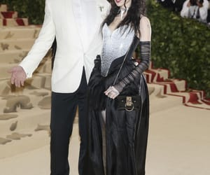 goth, grimes, and met gala image