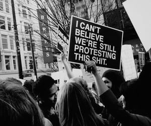 protest, shit, and text image