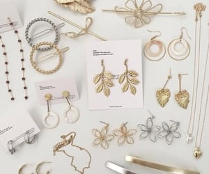 accessories, earrings, and ring image