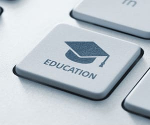 article, online, and education image