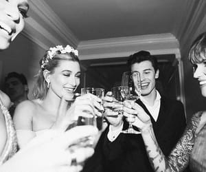 hailey baldwin, ruby rose, and shawn mendes image