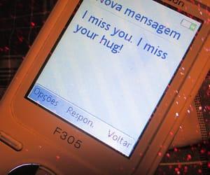handy, hug, and i miss you image