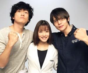 石原さとみ, 窪田正孝, and 井浦新 image