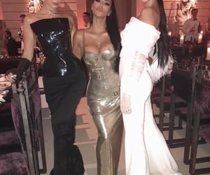 kendall jenner, bella hadid, and kim kardashian image