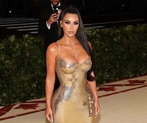 kim kardashian, met gala, and beauty image