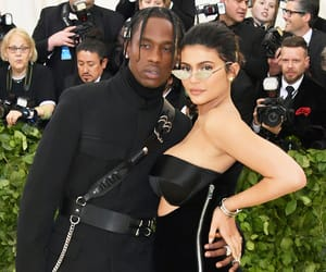 fashion, kylie jenner, and travis scott image
