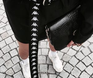 adidas, bag, and black image