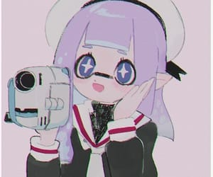 aesthetic, camera, and cute girl image