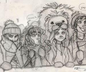 hermione granger, luna lovegood, and neville longbottom image