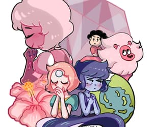 lion, steven universe, and pearl image
