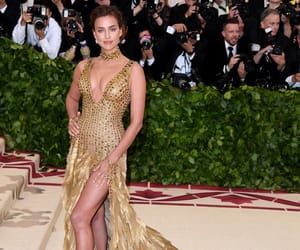 irina shayk, celebrity, and met gala image