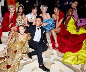 red carpet, celeb style, and met gala image