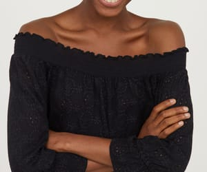 blouse, boho, and eyelet image