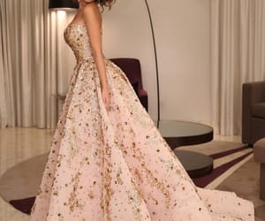 fashion, beauty, and wedding dress image