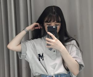 aesthetic, girl, and ulzzang image