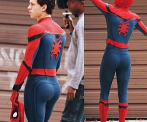 butt, tom holland, and spiderman image