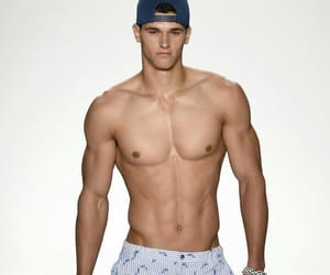 abs, male model, and model image