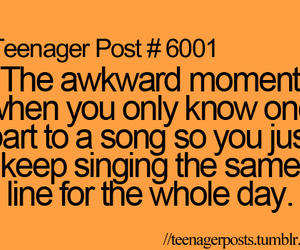 teenager post, song, and funny image