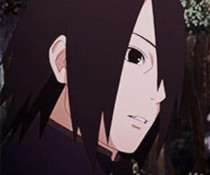 anime, naruto, and sasuke uchiha image